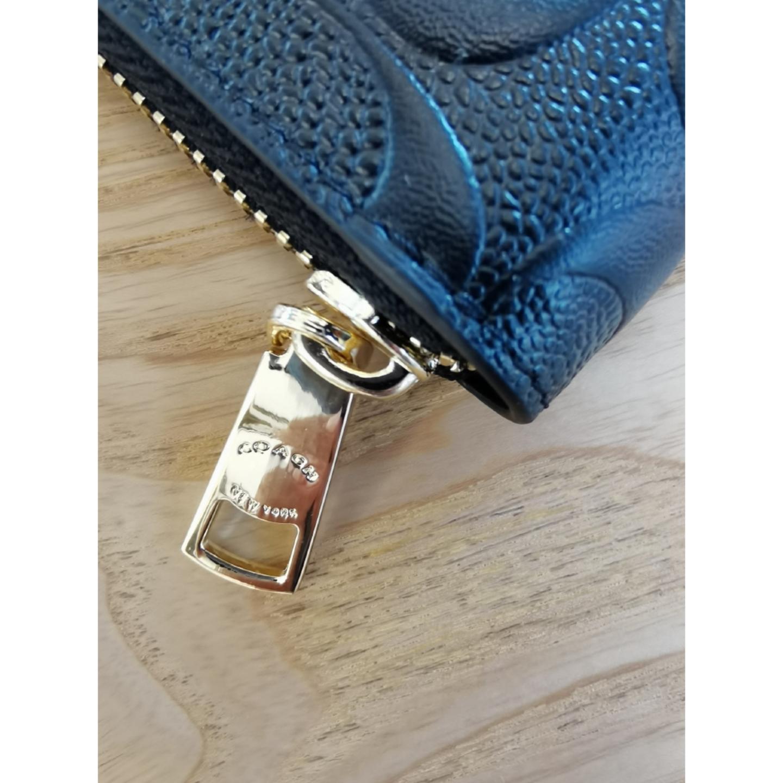 (SG COD) Coach Ladies Wallet F53834 Long Zipper Wallet Long Wallet Leather Wallet Ladies Long Wallet
