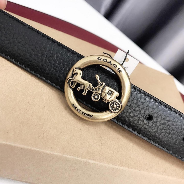 (SG COD) Ladies  Coach  belt F78181 accessories belt belt leisure belt