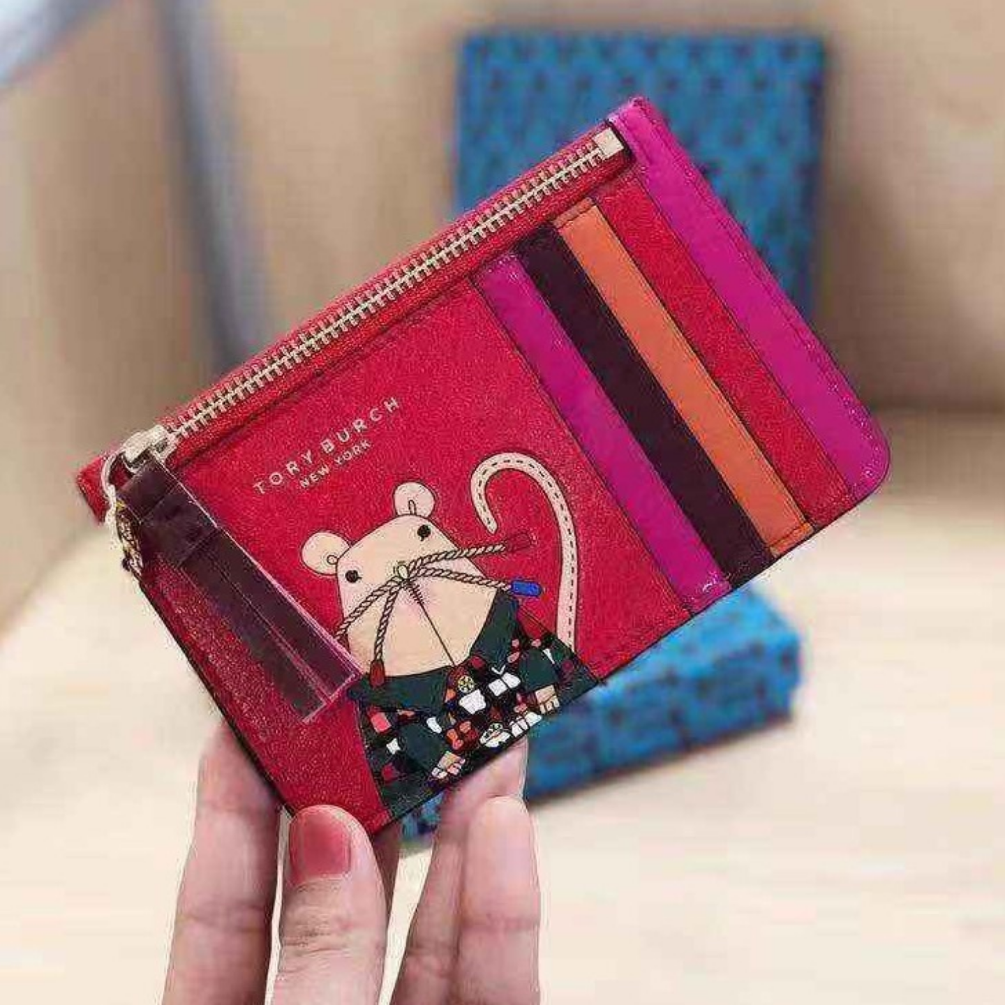 2020 limited edition Mini Coin Purse Zip Card Holders & Key Holders