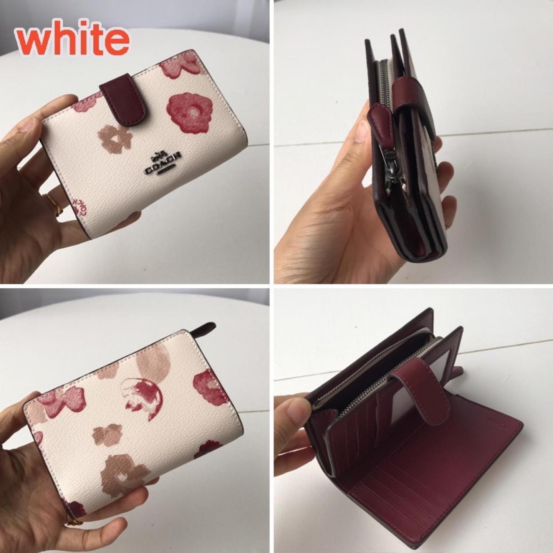(SG COD) Women's Short  Coach   Wallet F39127 Wallet Fashion Wallet