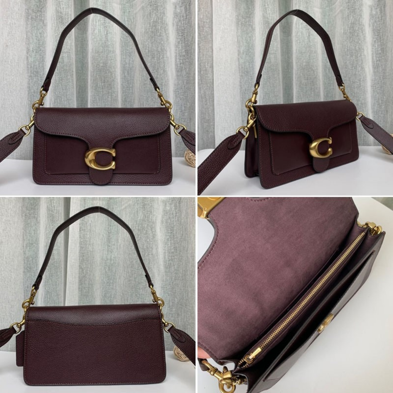 (SG COD) Women's  Coach Bag F73995 Bacchus Bag Tabby Series Shoulder Bag