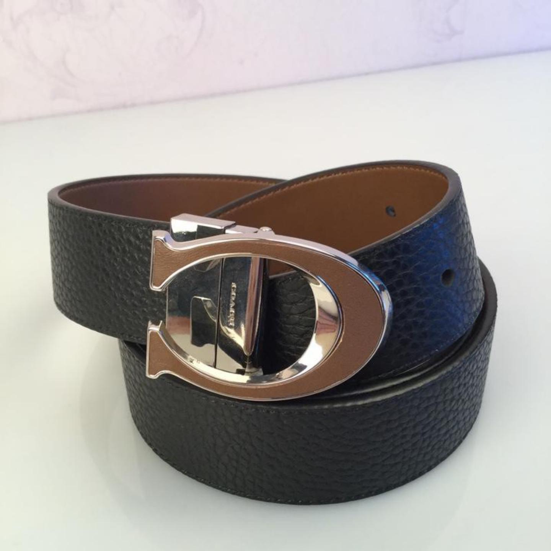 New Coach 56822 Gift Box Set Fashion Mens Belt