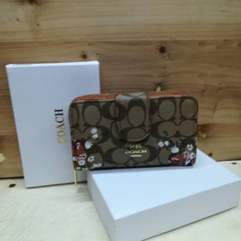 Coach flora small wallet