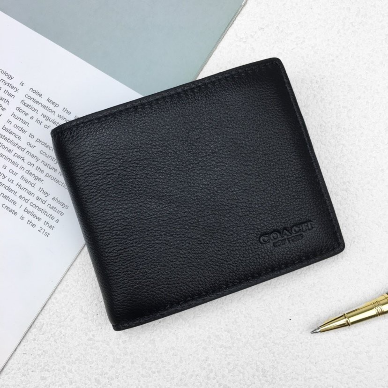 Mens Wallet F74991 Wallet and Cardholder Short Wallet