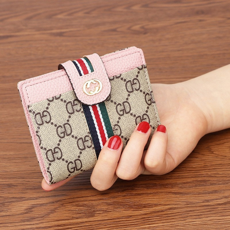 Gucci Pu leather multi-functional wallet