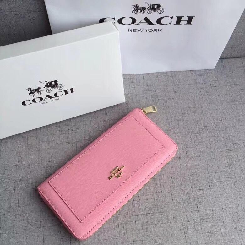 coach simple and generous long wallet
