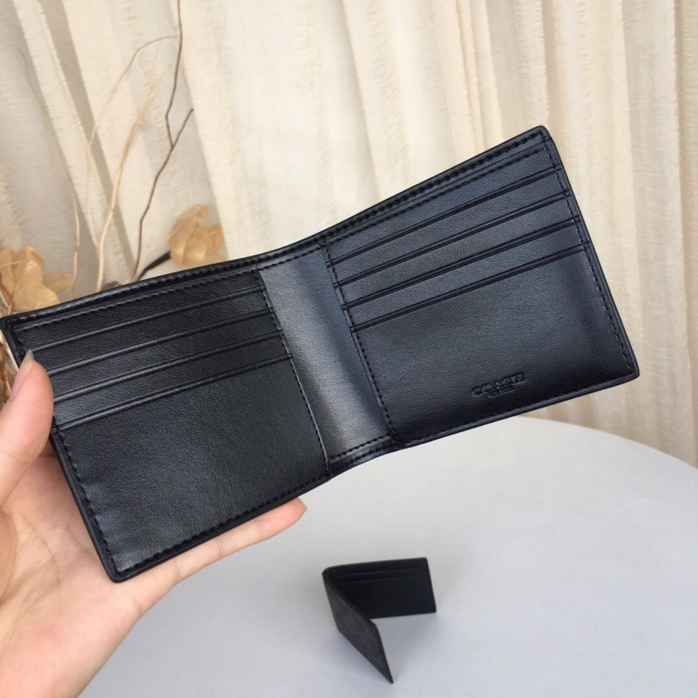 (SG COD) Coach  (2020 limited edition) Men's wallet F37333 F68217 F32614 wallet and cardholder short wallet business wallet