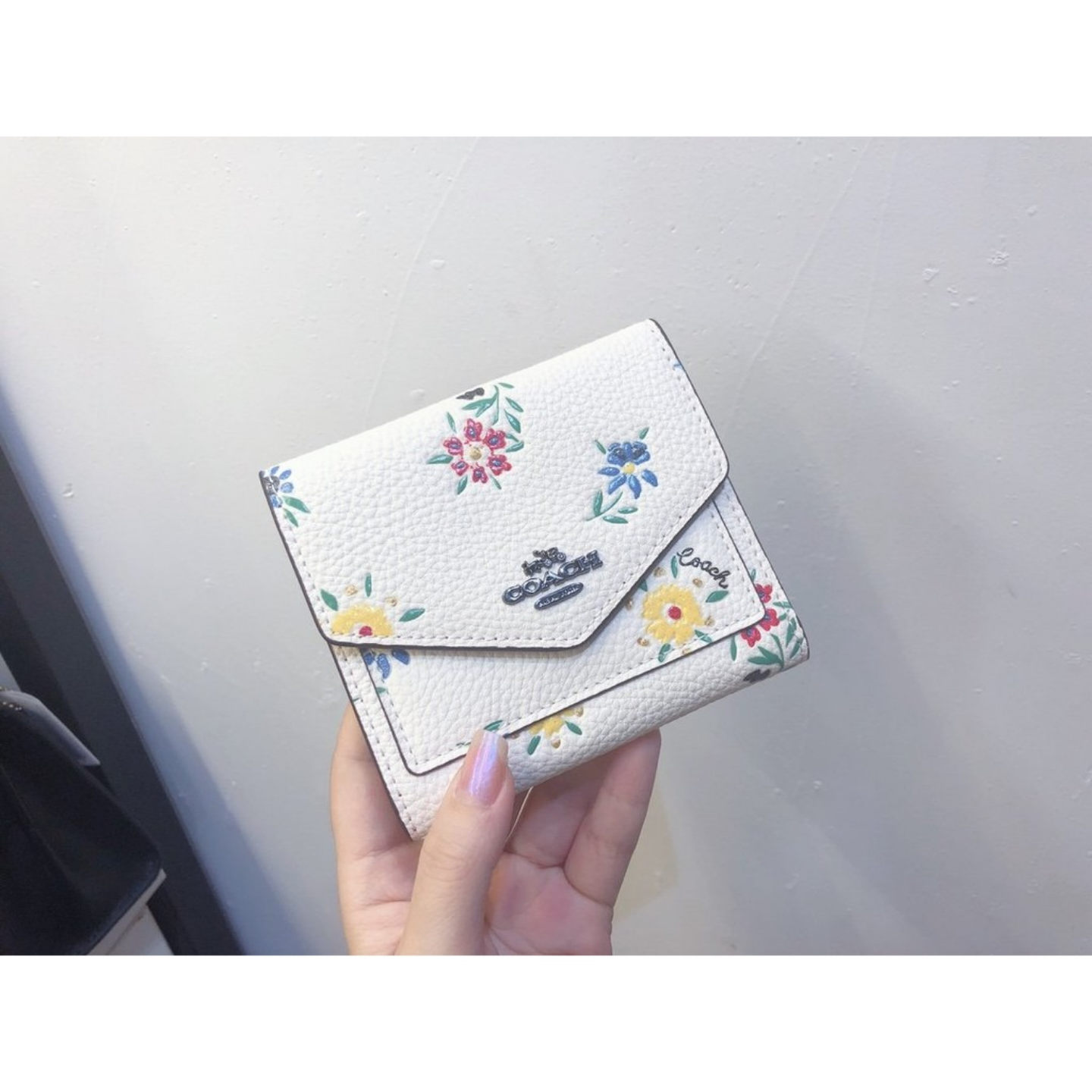 Ladies wallet F1131 F69849 tri-fold wallet short wallet wallet and card holder short wallet short clip