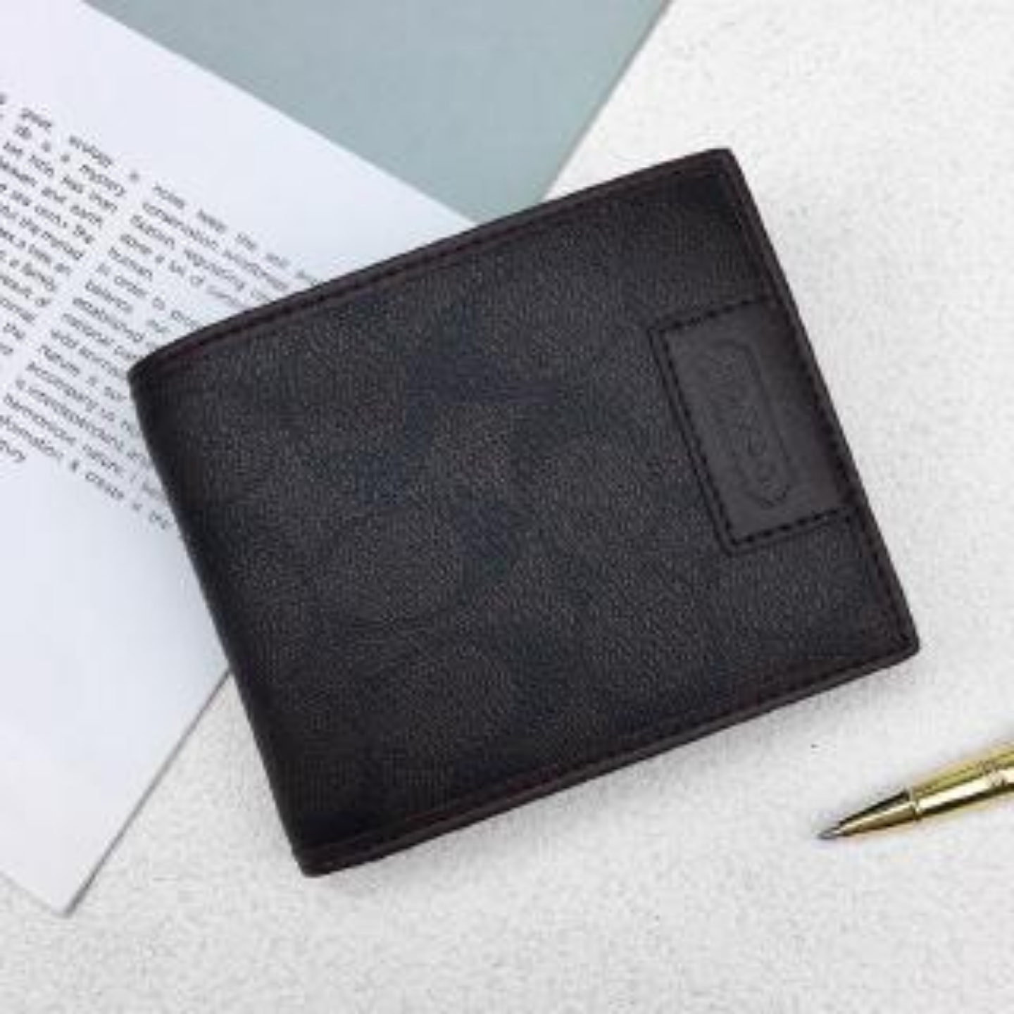 (SG COD) COACH Short Wallet Card Holder Package Two Fold Billfold Wallets Leather Coin Purse Poch Bag