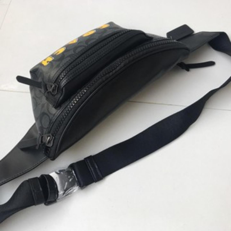 (SG COD) COACH Best Gift, Genuine Coach Men's Fashion Bra, Waist Bag outlet original
