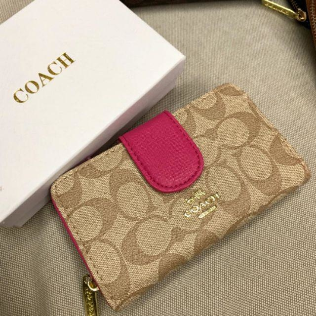 COACH SMALL WALLET FOLDOVER