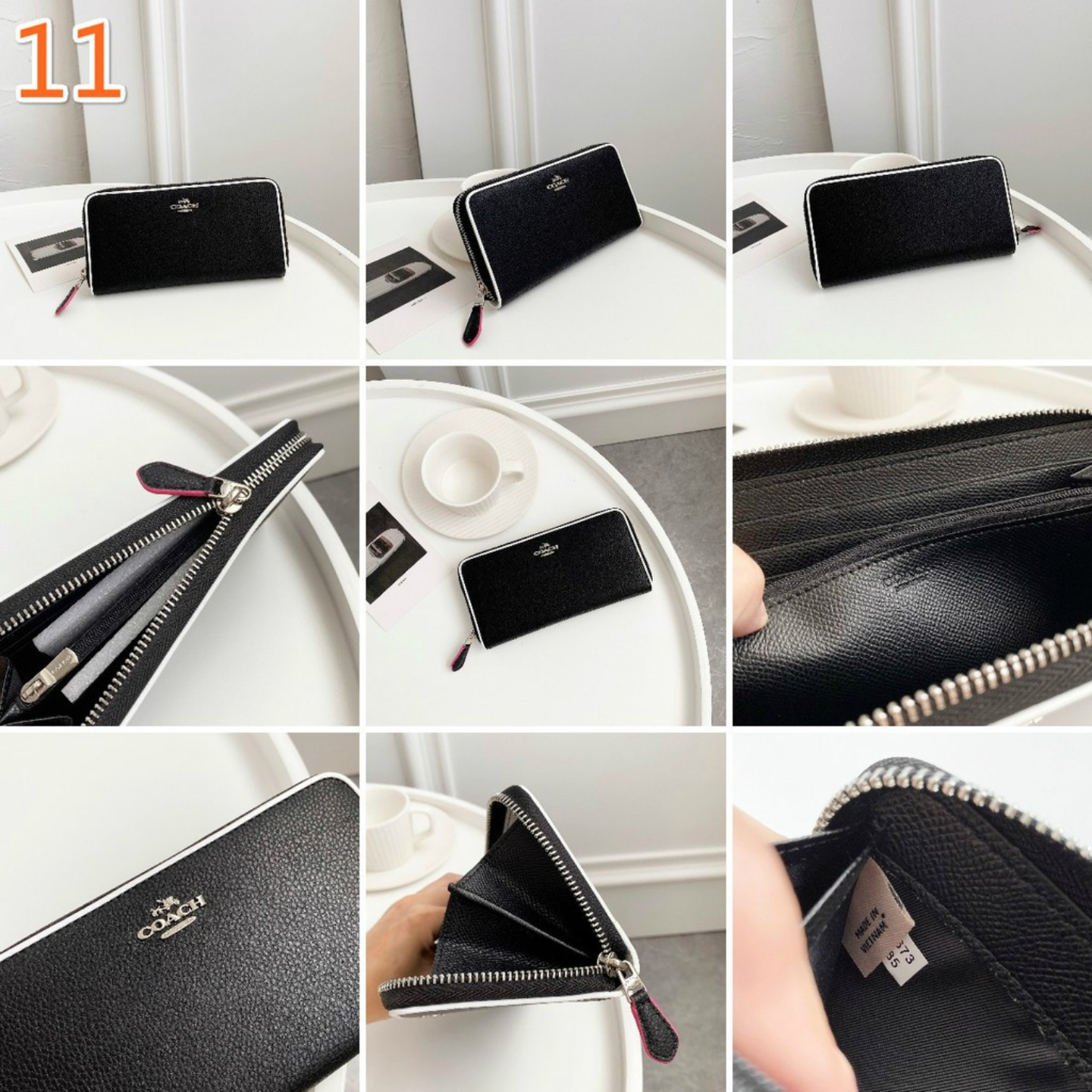Flash Sale C long purse F76546 F98126 F29931 F91743 2857 F87927 F29380 F31350 F87926 F12585 Womens wallet