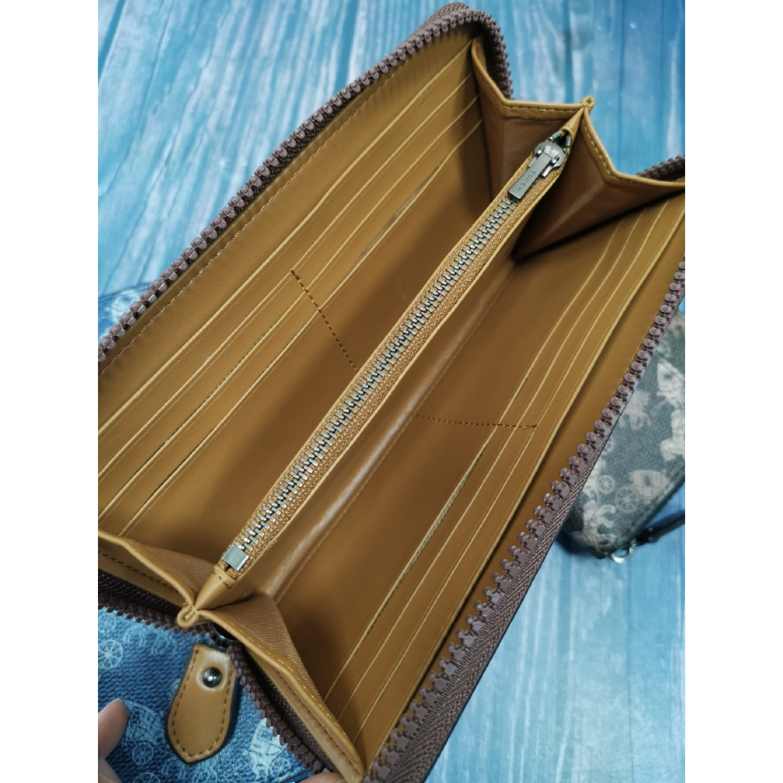 (SG COD) Ladies  Coach long wallet F89611 F87927 F87926 wallet long wallet zipper long wallet