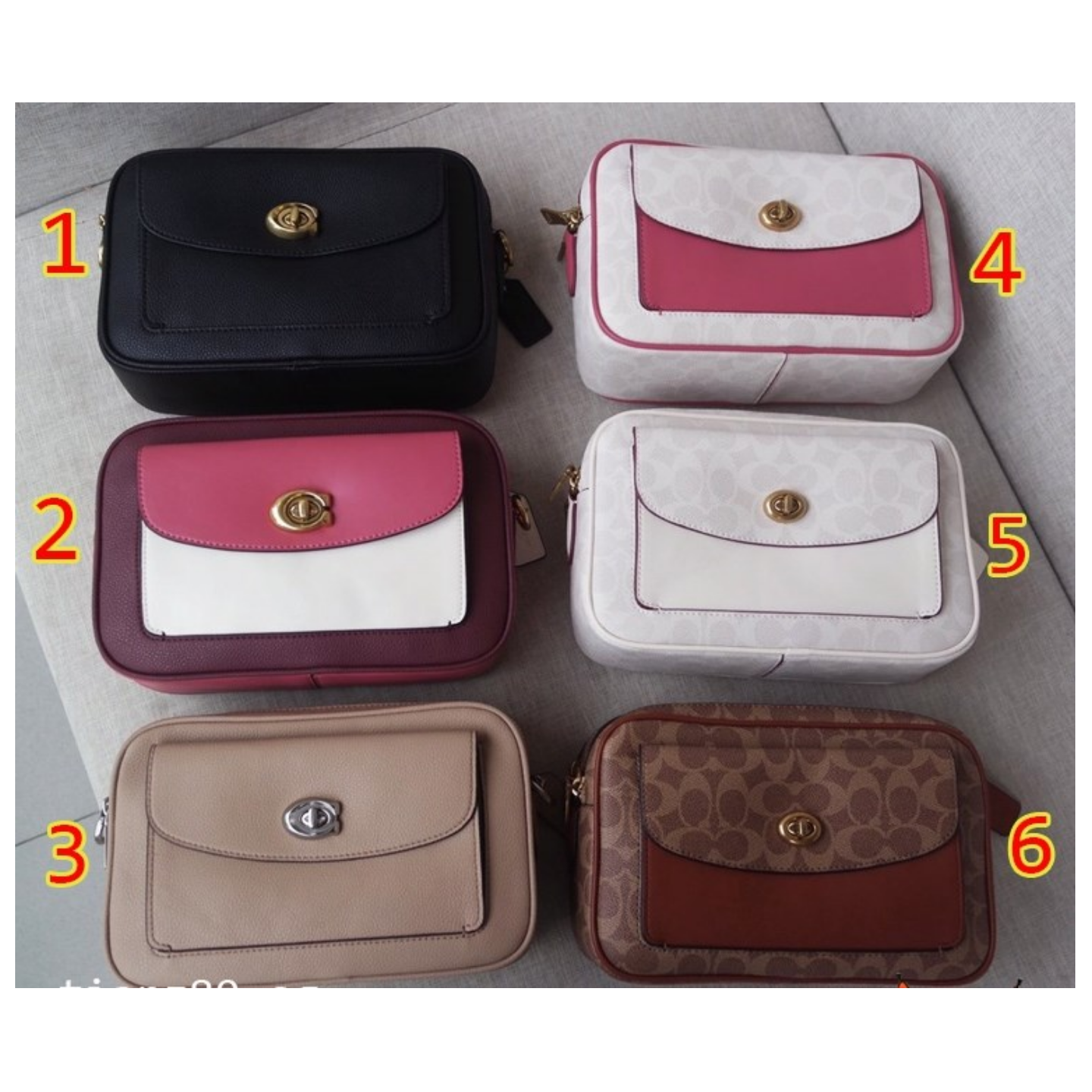 (SG COD)  Women's Coach Bag / F639 F640 / camera bag / sling bag / Crossbody Bag / shoulder bag
