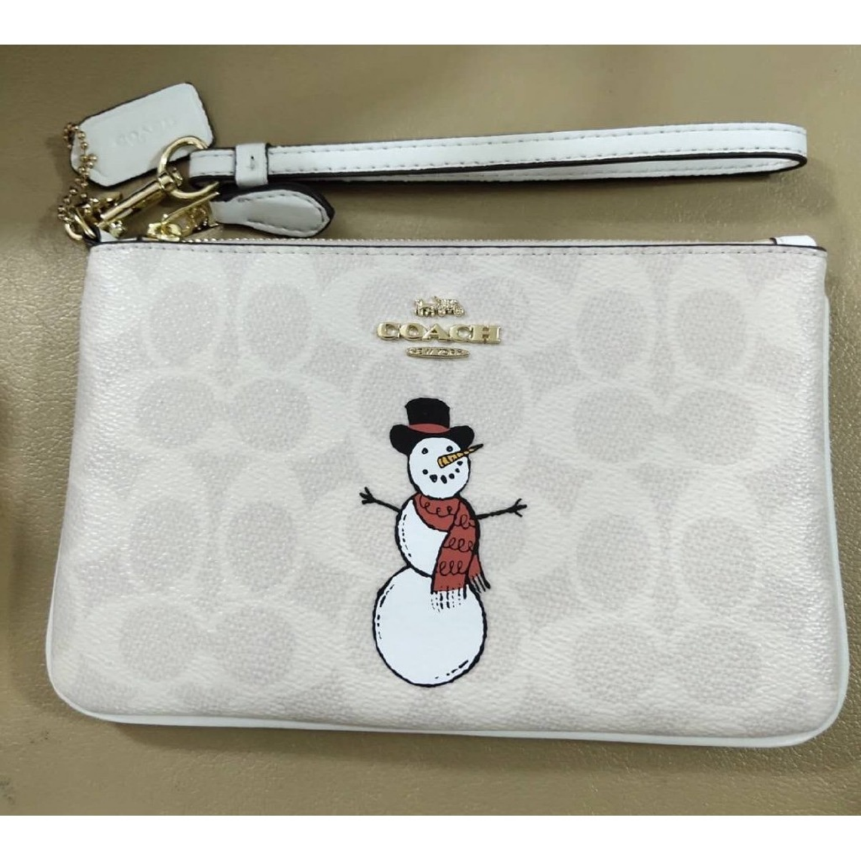 Ladies clutch bag F87642 F3050 cartoon snowman coin purse wrist bag clutch bag