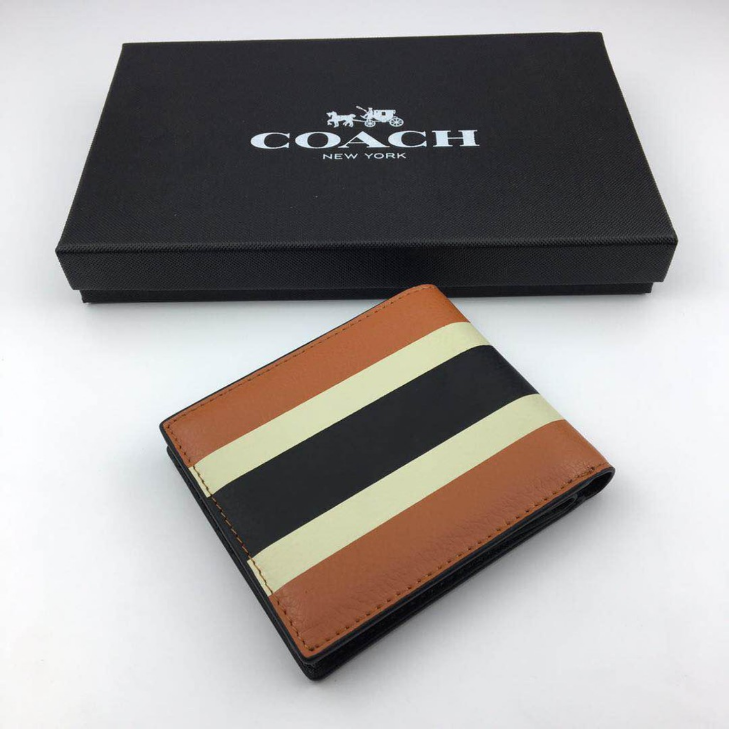 (SG COD) Coach Men's Wallet Fashion Wallet Short Wallet F75086