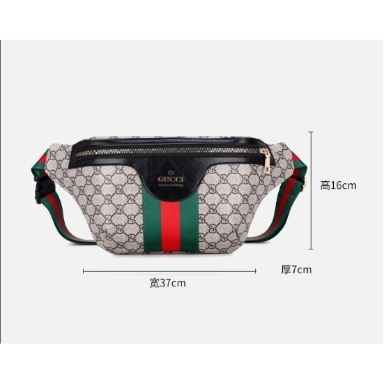 Gucci Waist Pack Girl Satchel Fashion Shoulder Bag