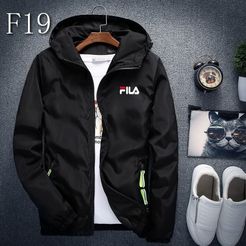 Fila fiera male windbreaker jacket