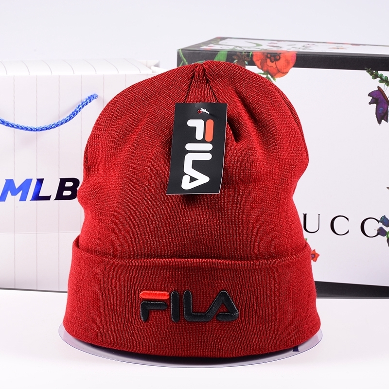 FILA Beanie Unisex Men Women Knit