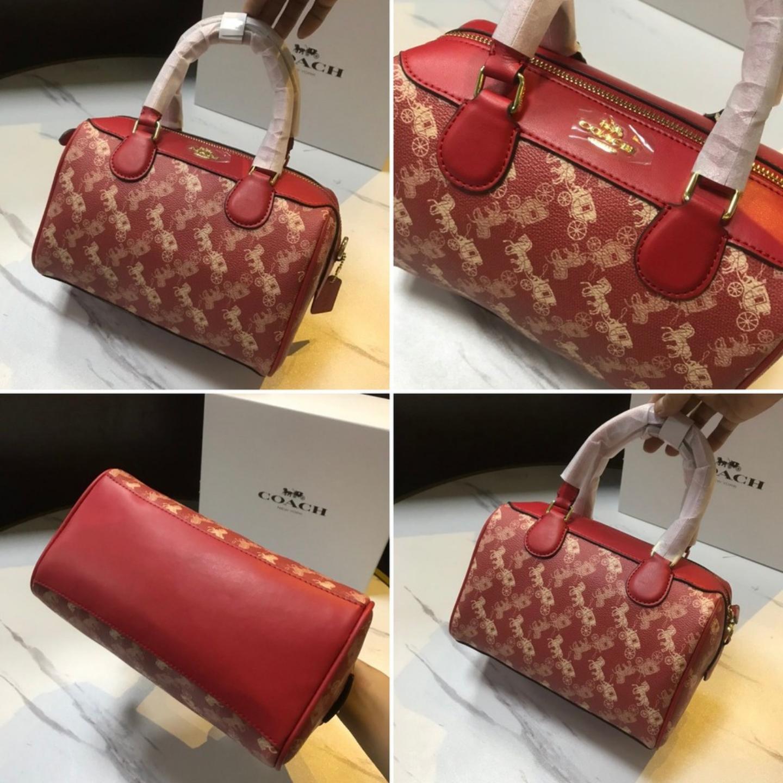 (SG COD) Ladies Coach Bag / F303 / Pillow Bag / Handbag / Shoulder Bag / Ladies Shoulder Bag