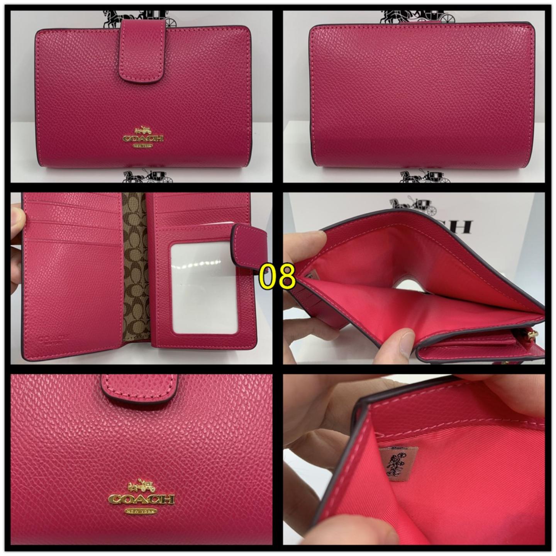 Coach Ladies Wallet MEDIUM CORNER ZIP F53436