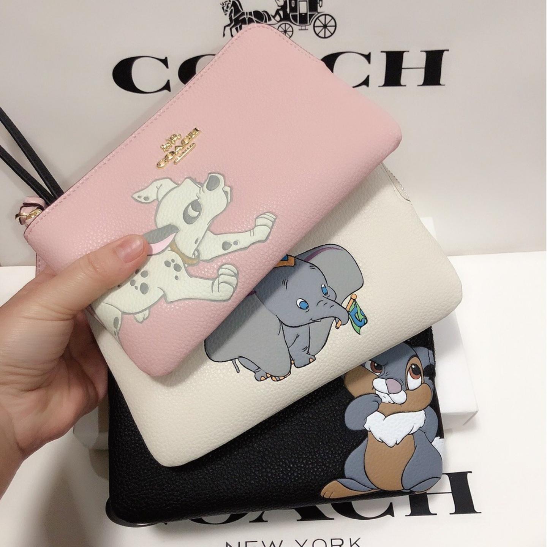 (SG COD) Coach   Ladies clutch bag F91776 F91778 F91777 zipper wallet coin purse wrist bag clutch bag