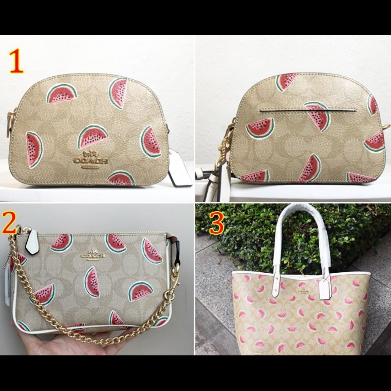 (SG COD) Coach Women's Bags / F691 F2627 F3039 / Watermelon Series Bags / Handbags / Sling Bags / Shoulder Bags