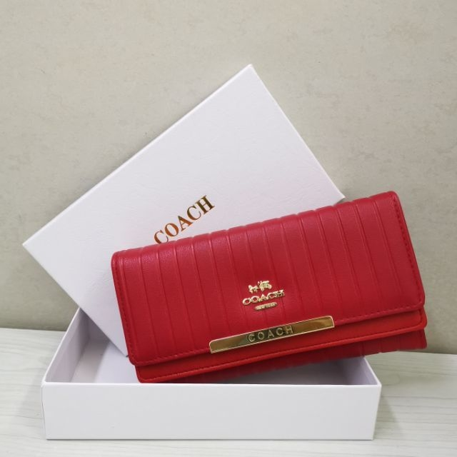 Coach compartment wallet