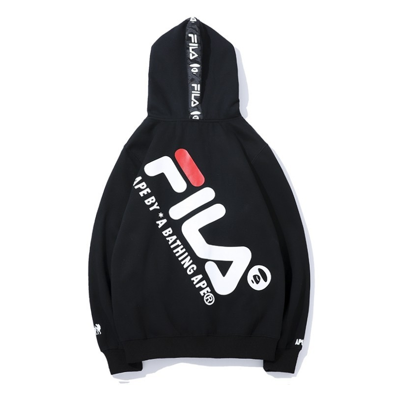 FILA joint name cooperation sweater hoodi