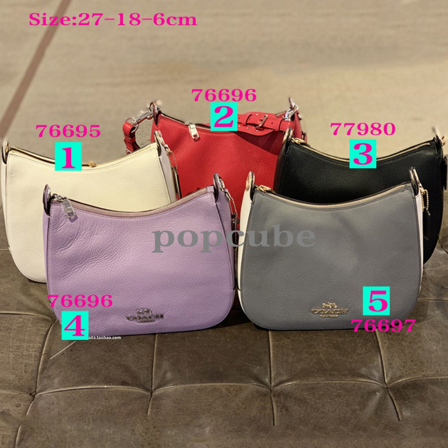 New Design 76695 77980 76696 76697 womens shoulder bag crossbody bag