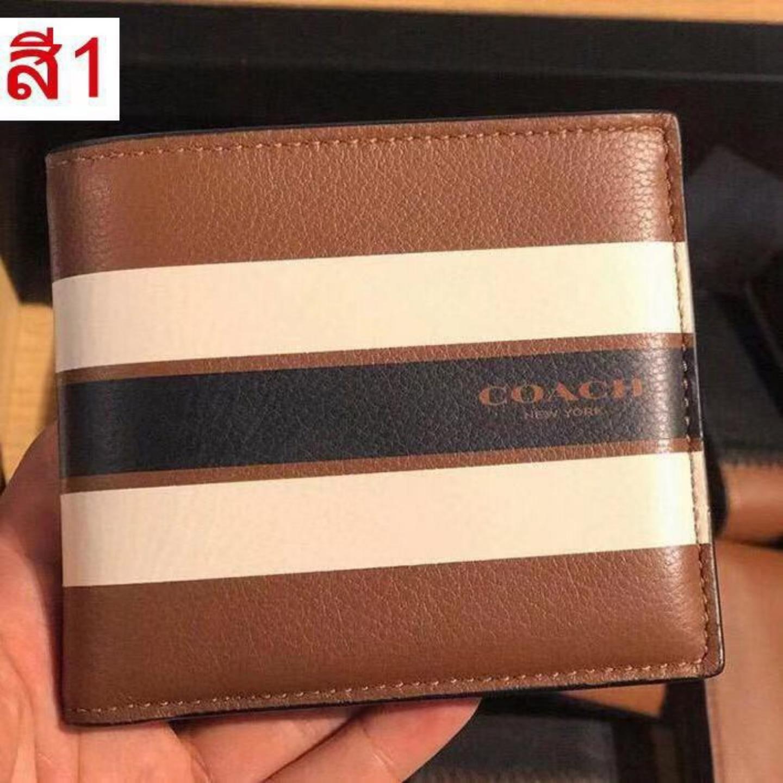 COACH Mens Short Purse Card wallet