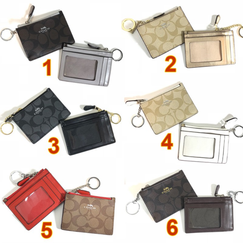 (SG COD) Coach ladies card holder card holder key case