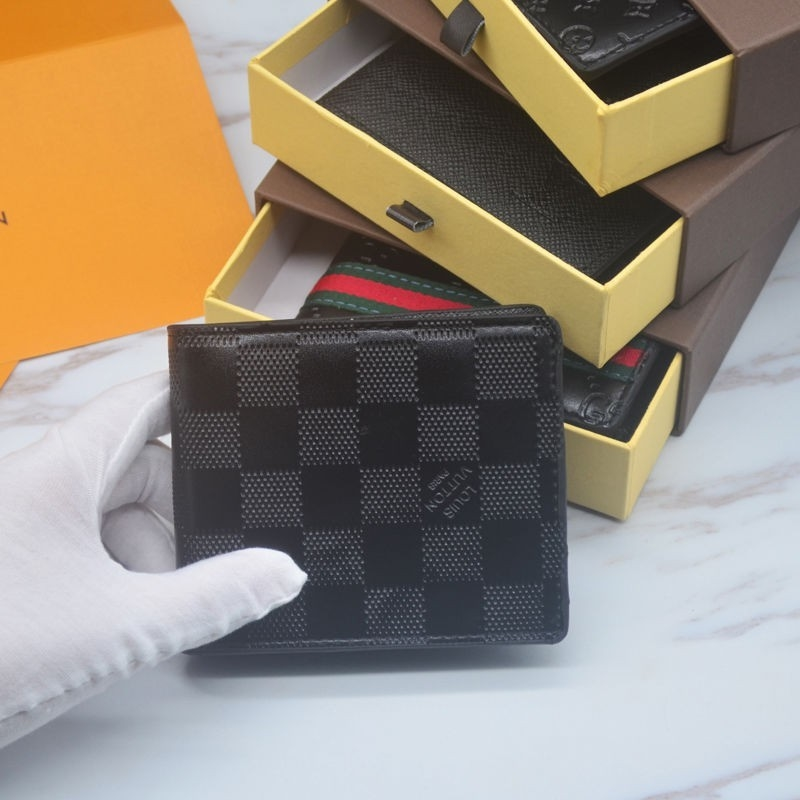 LV men's billfold wallets
