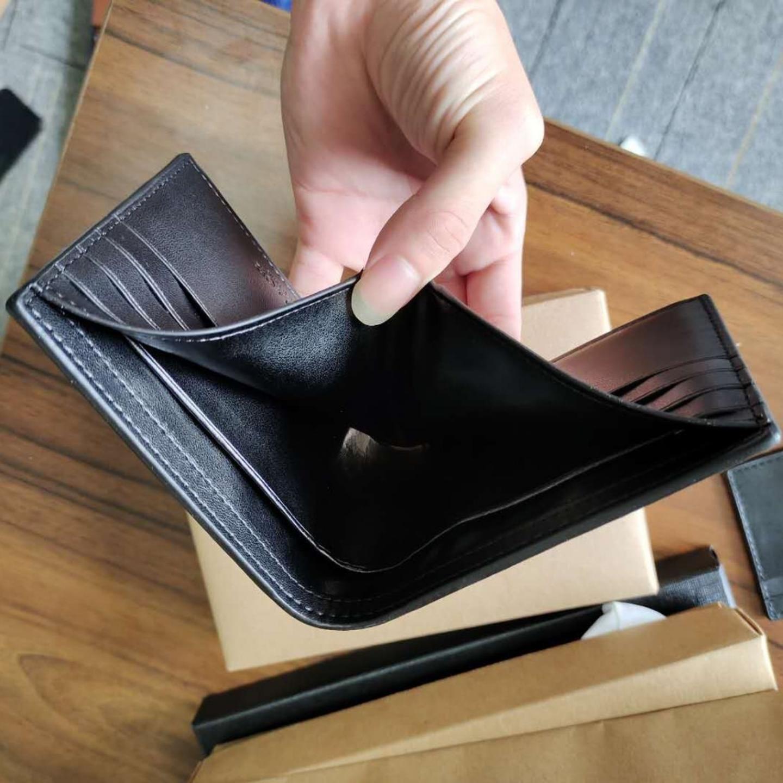 Quick shipping C wallet  F26072  mens wallet  O cardholder  A short wallet  leather wallet  C mens short wallet  short clip  H casual wallet