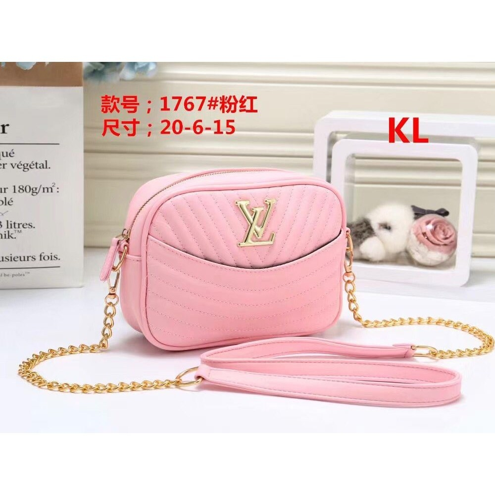 LV Women fashion Rhombic pattern shoulderbag