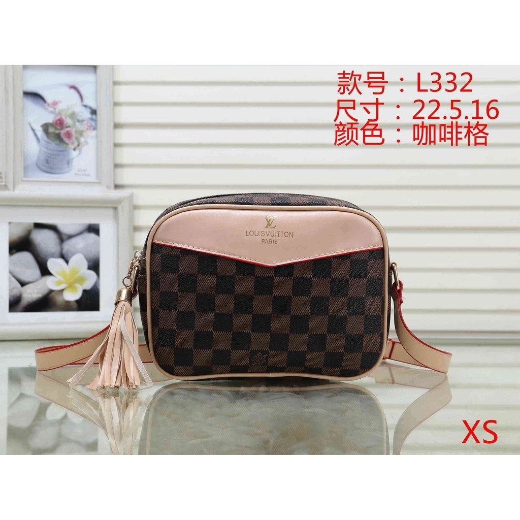 Lv Lady Leather Shoulder bag
