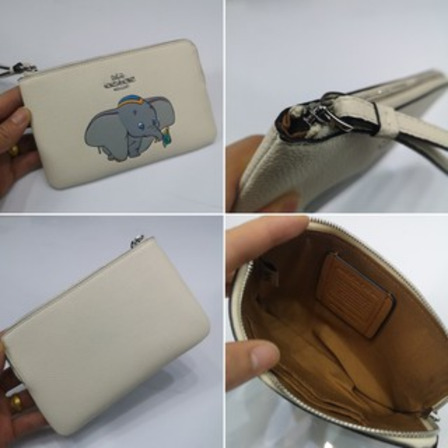 (SG COD) COACH Women's Bags wrist bags F91776 F91778 F91777 clutch bags single zipper coin purse