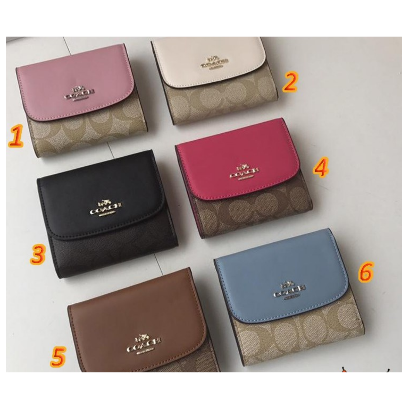 Womens Bags F87589 Wallets & Cardholders Short Wallets