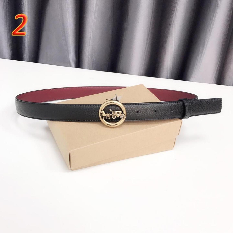 (SG COD) Ladies Belt Accessories Belt Leather  Coach  Belt