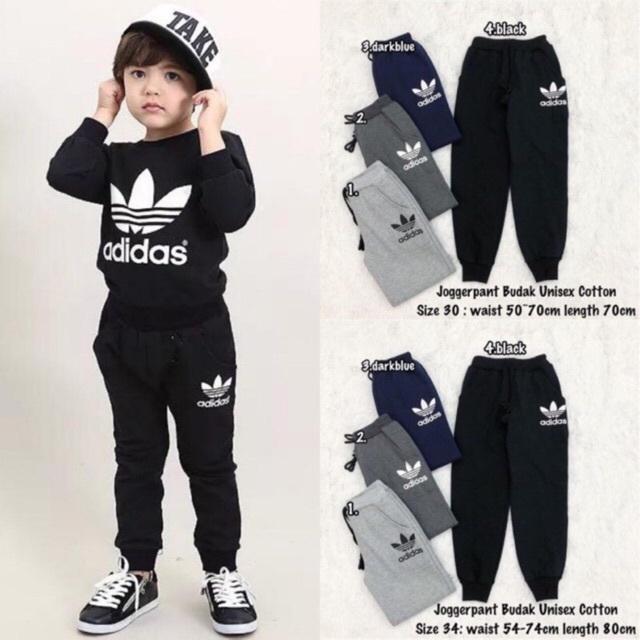 Adidas Jogger Pants Budak Cotton