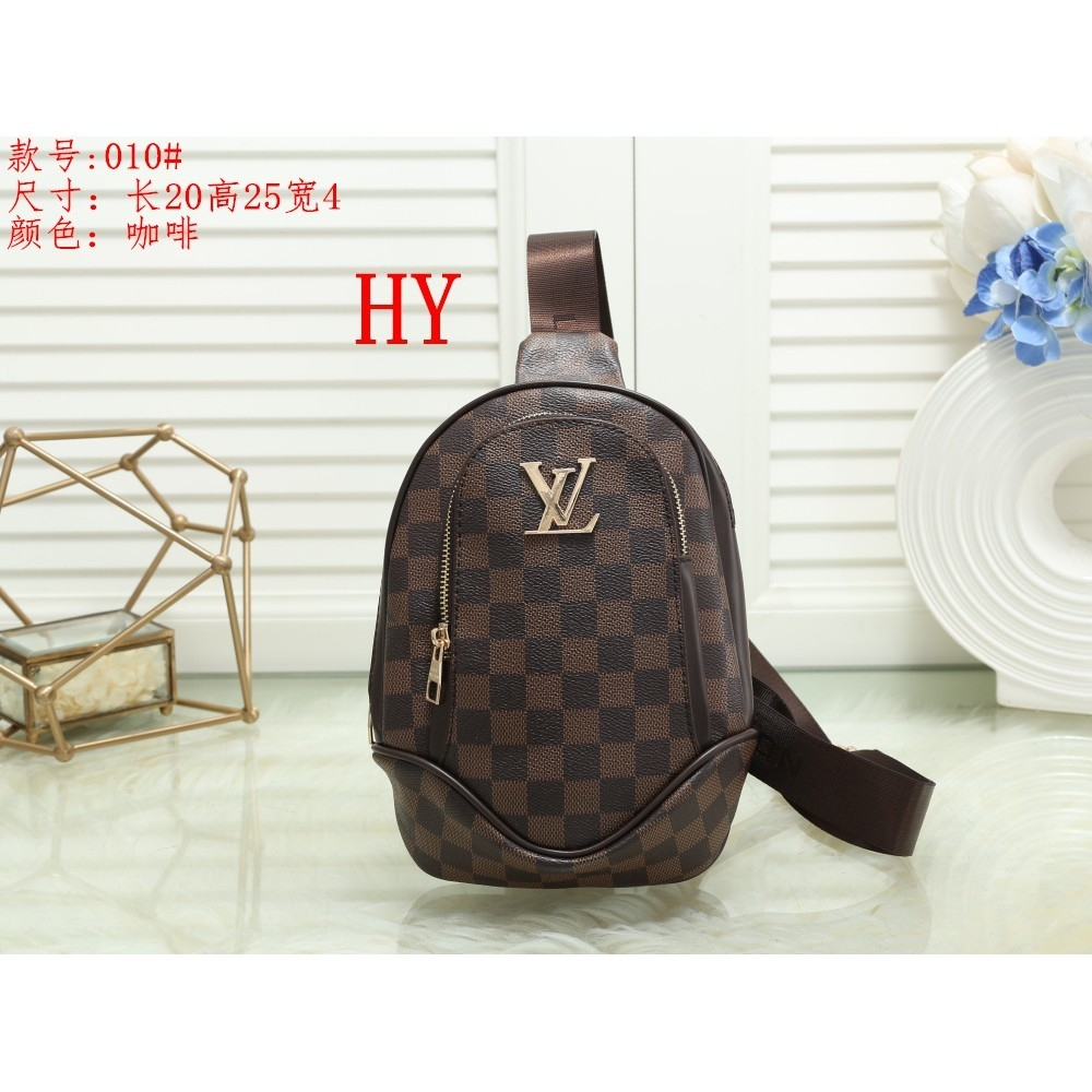 LV Mans Wide Shoulder Band Slant Bag