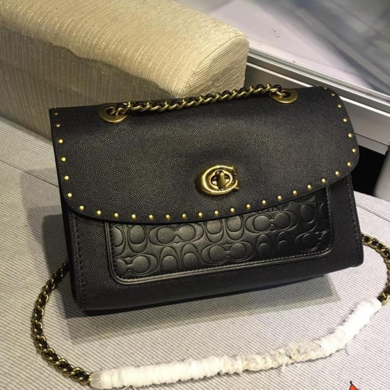 (SG COD) Coach  Women's Bags / F53344 / Chain Shoulder Bag / Crossbody Bag / Ladies Sling Bag