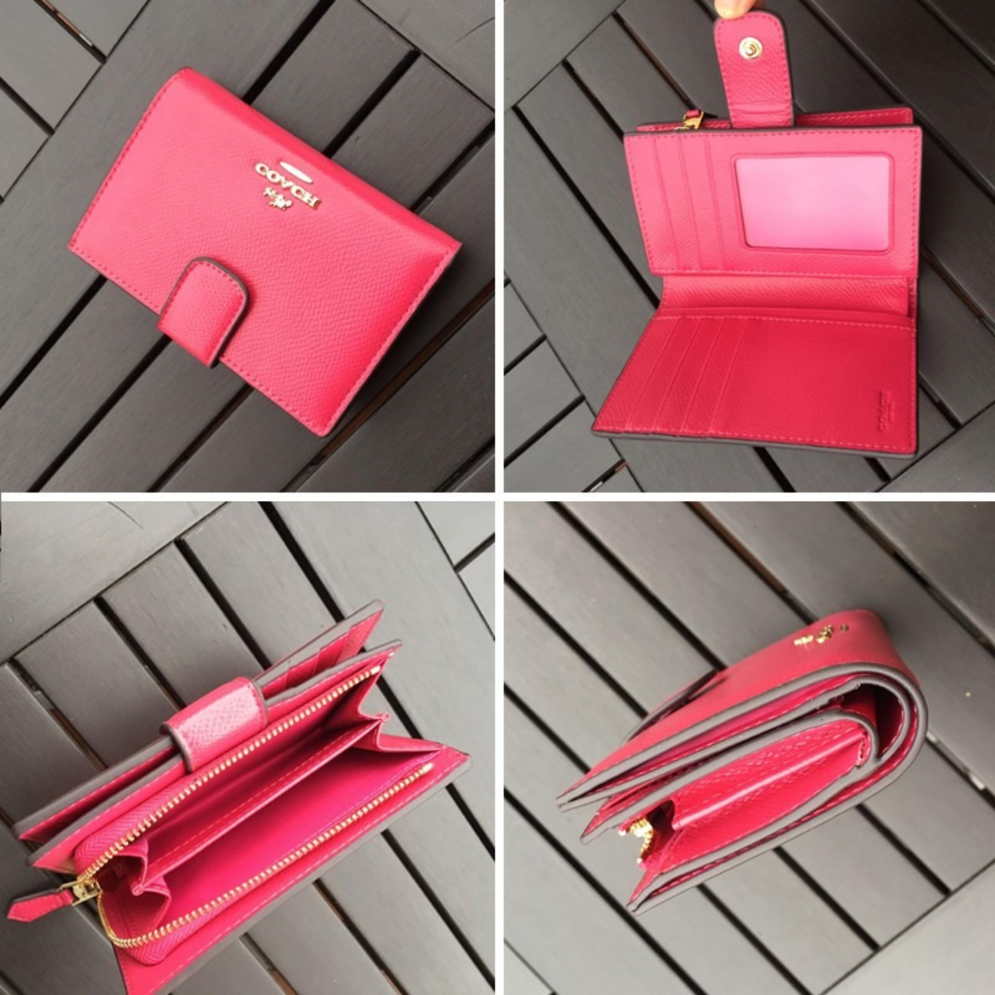 Womens Wallets F53436 Wallet and Cardholder Leather Wallet Short Wallet