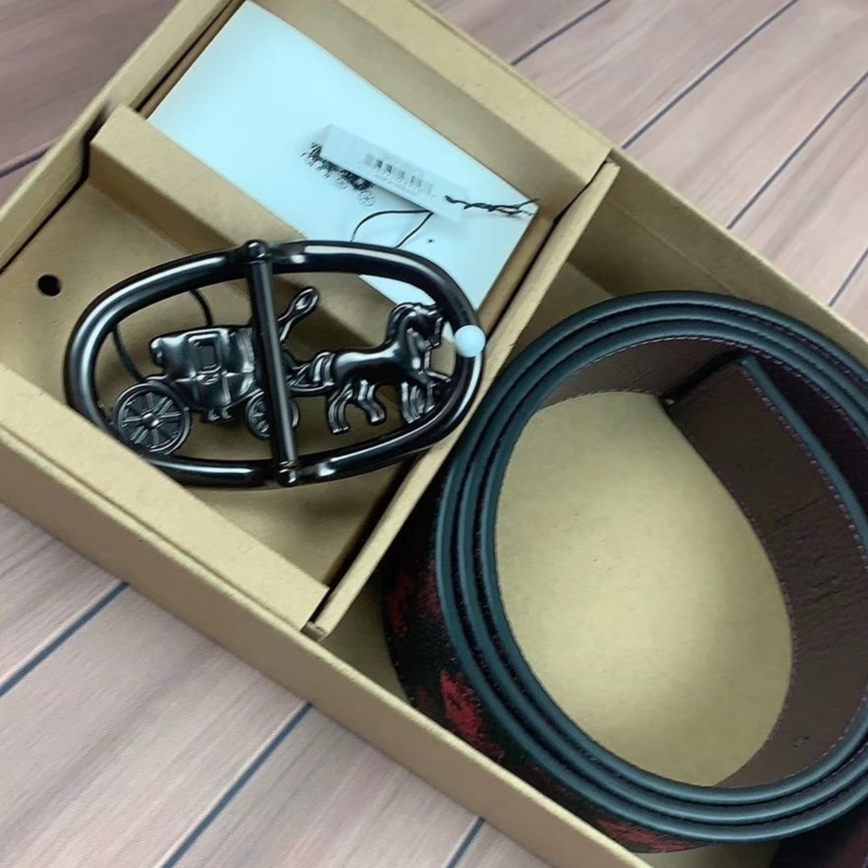 Coach Belt F88279 Mens Belt Leather Belt Casual Belt
