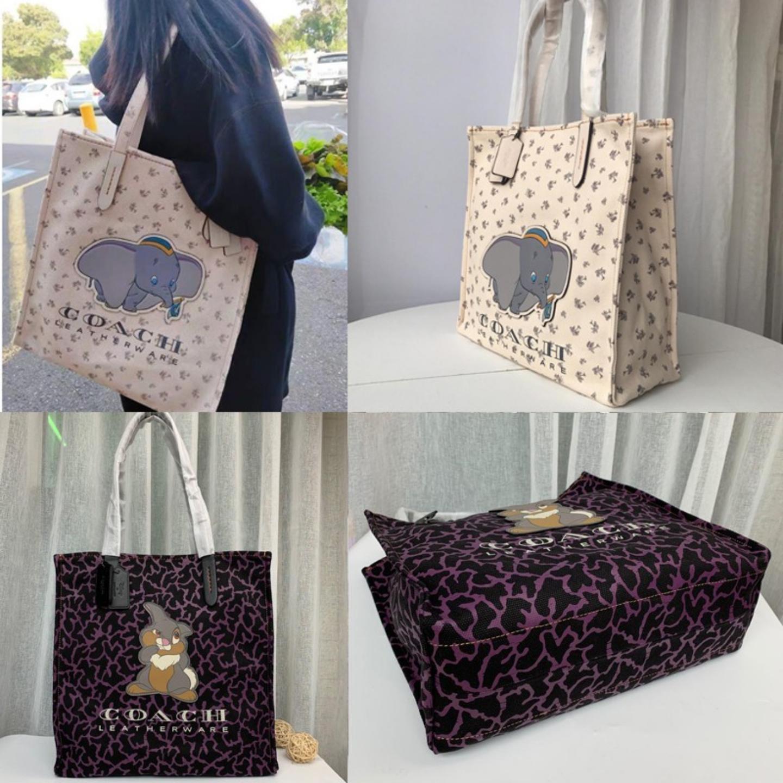 (SG COD) Coach Ladies bag F69251 F69250 Disney shopping bag handbag shoulder bag