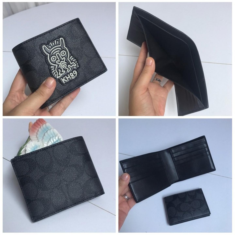 Mens wallet F68217 F37333 F74993 F11945 F73629 F24655 wallet coin purse short wallet