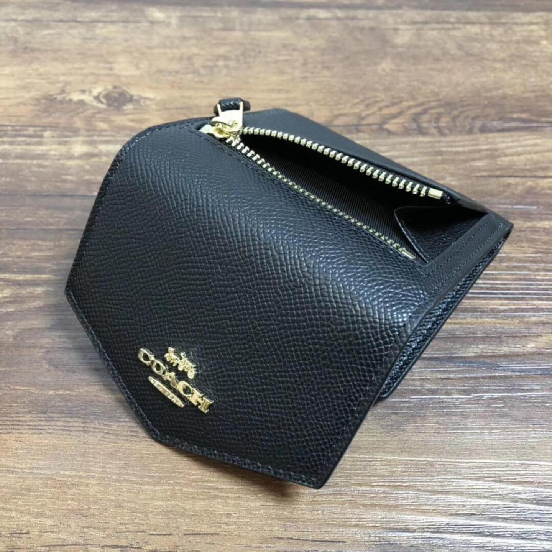 (SG COD) Coach Women's wallet tri-fold wallet F59972 short wallet