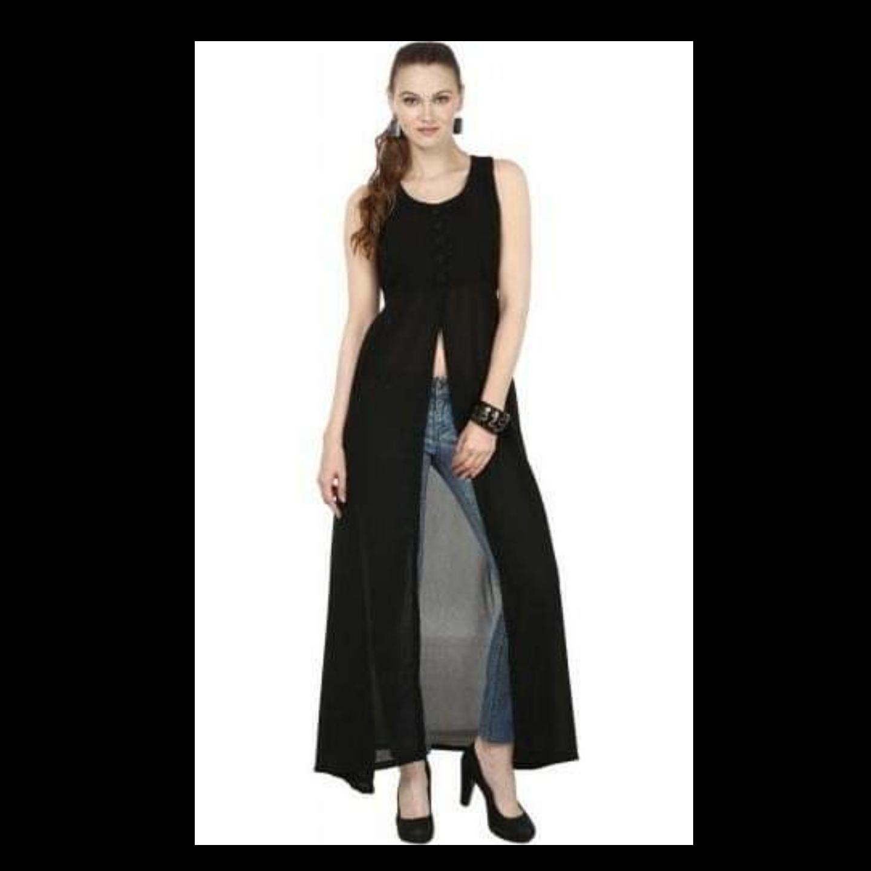 Front cut dress