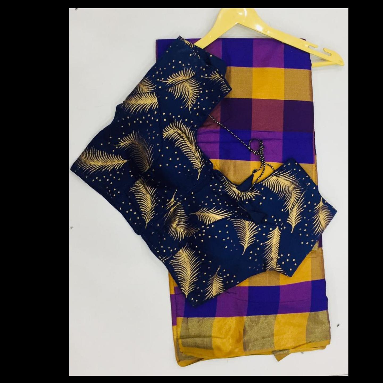 Saree + blouse