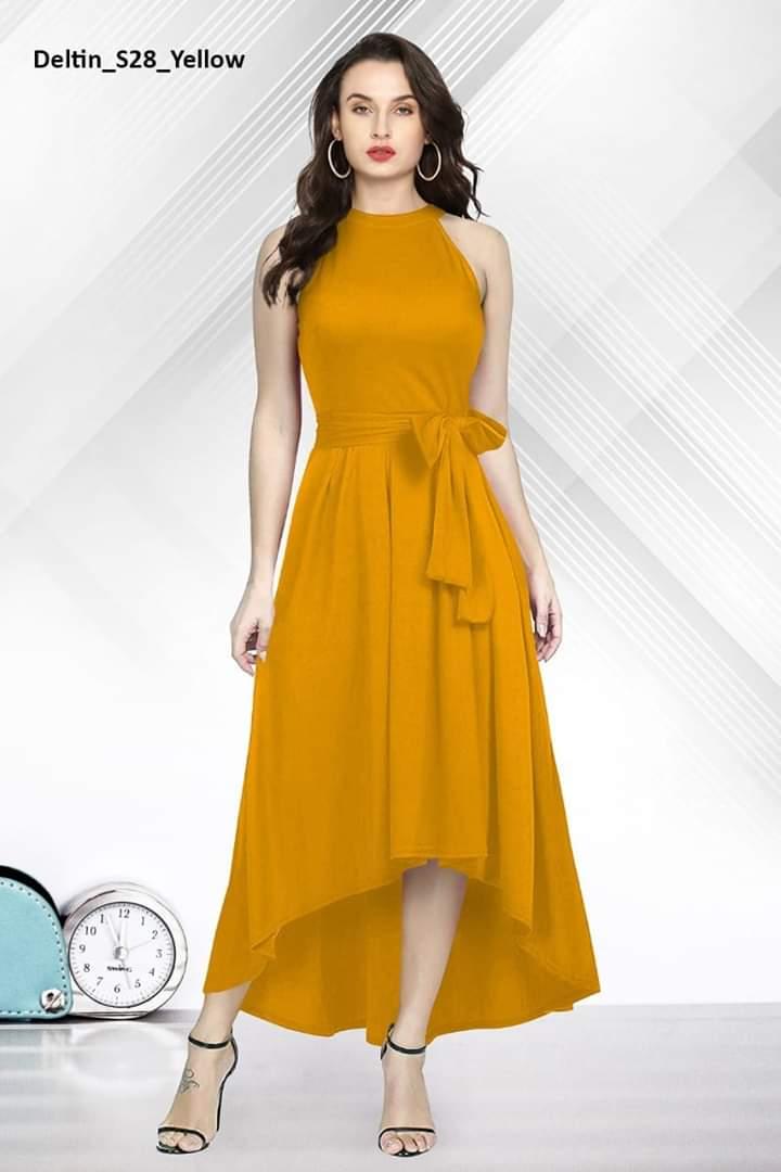 New launch Rayon dress